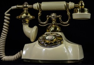 Brain injury in the 21st centuryAntique phone with dial and handset