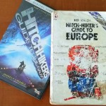 Brain Injury - Photograph Book and DVD cover Hitchhikers Guide to the Galaxy and to Europe