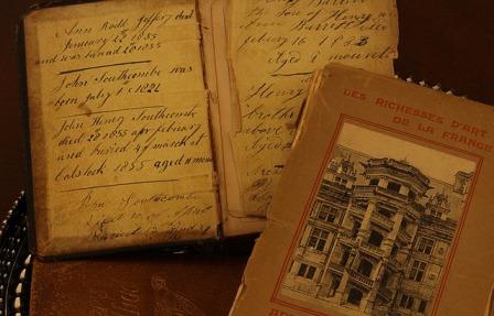 Old journals. Creativity after brain injury