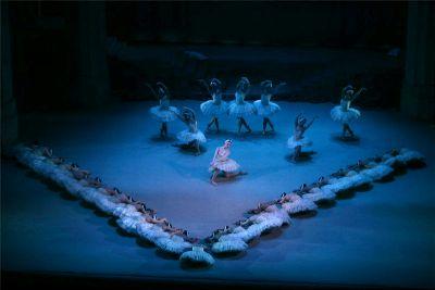 Swan Lake Ballet. Be Creative